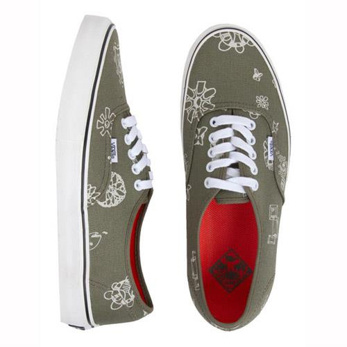 Vans Authentic SF Mens Skate Shoes