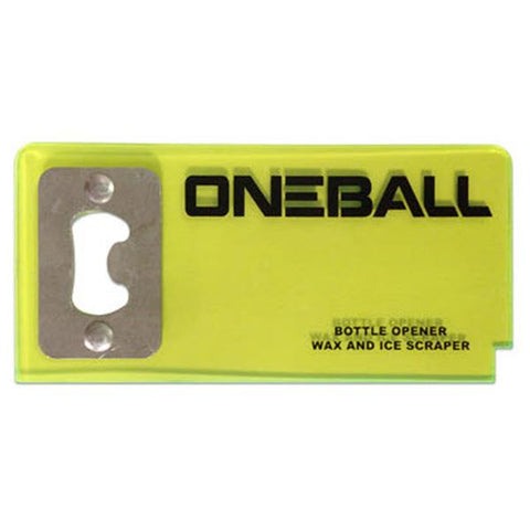 One Ball Jay Bottle Opener And Scraper