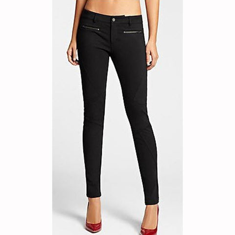 Guess Kate Ponte Moto Womens Leggings