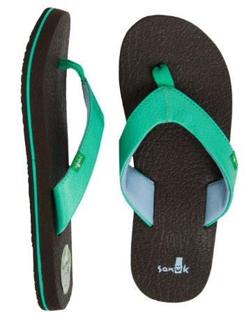 Sanuk Yoga Mat Girls Sandals