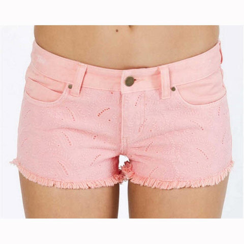 Billabong Dreamers Eyelet Womens Fabric Shorts