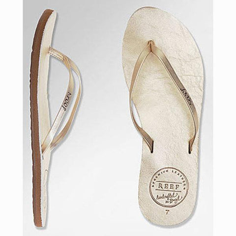 Reef Reef Leather Uptown Womens Flip Flops