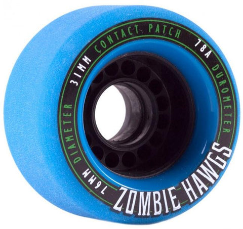 Landyachtz Zombie Hawgs 76MM Longboard Sliding Wheels