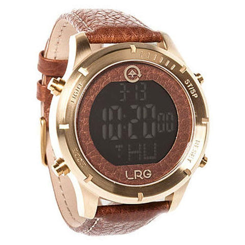 LRG Digi Mens Metal Strap Watches