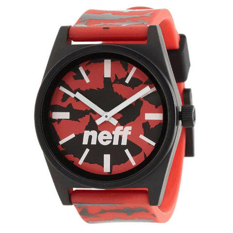 Neff Daily Wild Mens Rubber Strap Watches