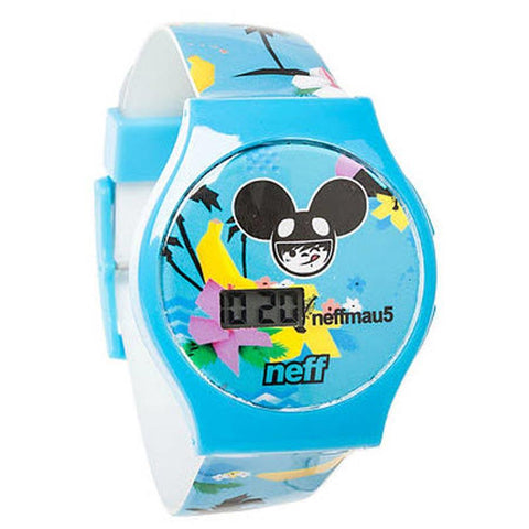 Neff Mau5 Mens Metal Strap Watches