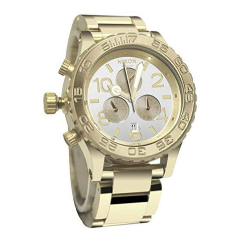 Nixon 42 20 Chrono Womens Metal Strap Watches