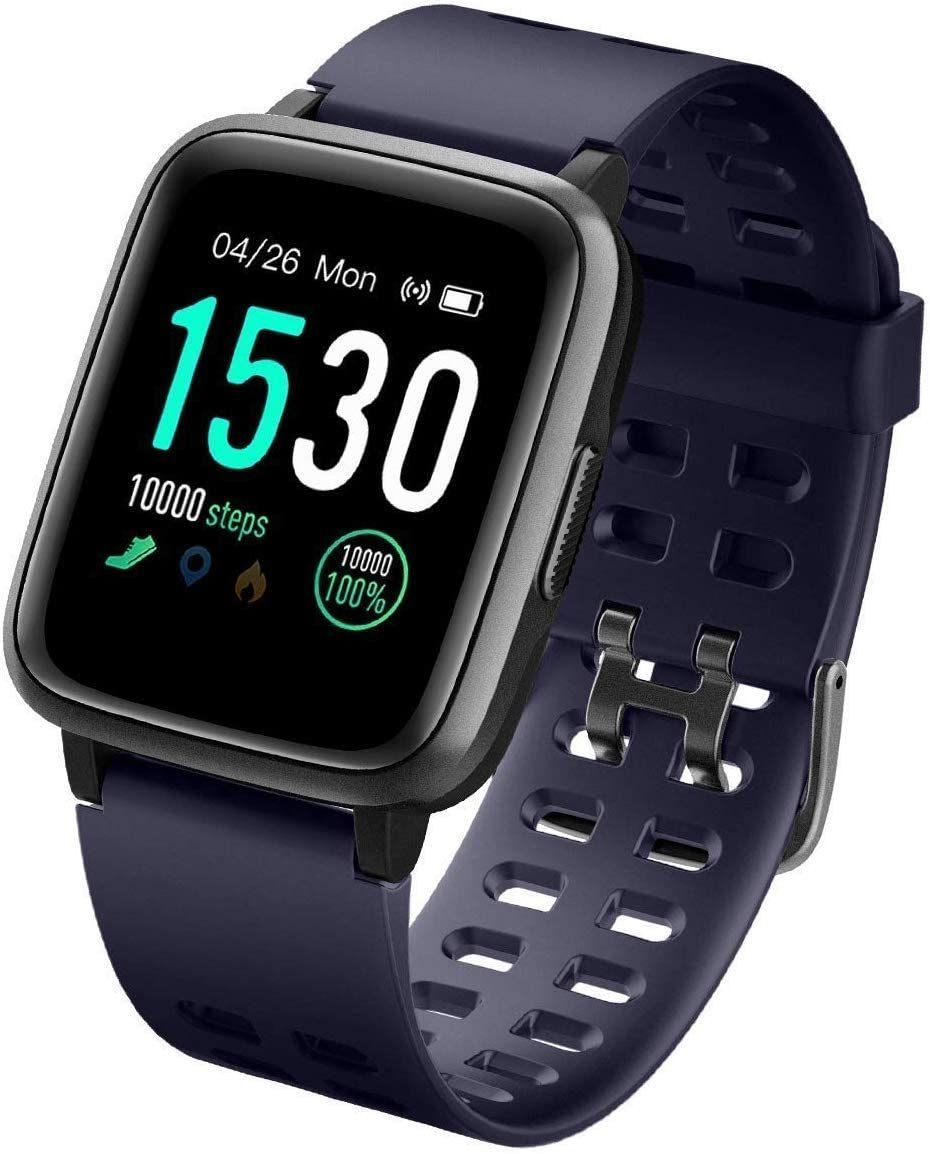Fitness Tracker ID205 Smartwatch (FREE 3-4 DAYS USA SHIPPING) - HAZZLER