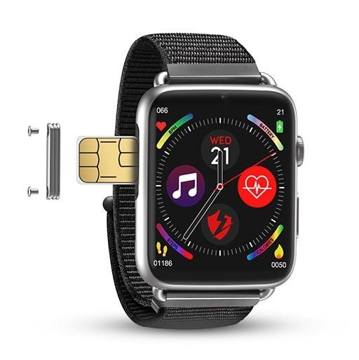 H-Pro LEM10 DM20 4G Smartwatch (Nylon Strap) (FREE 3-4 DAYS USA SHIPPING) - HAZZLER