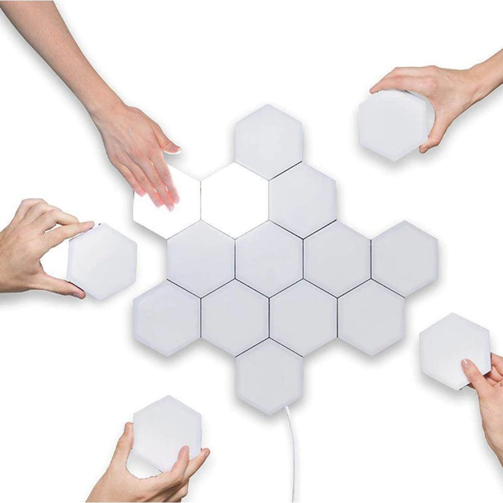 Quantum Touch Hexagon Light (FREE 3-4 DAYS USA SHIPPING) - HAZZLER