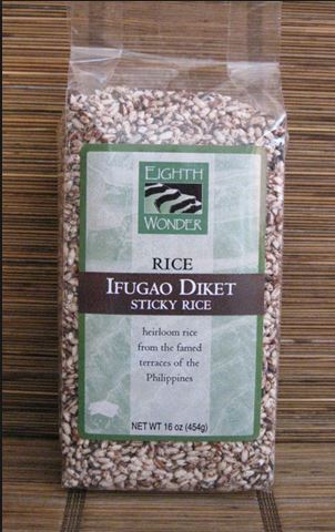 Ifugao Diket Sticky Rice