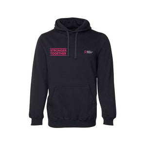 Stronger Together small slogan hoodie