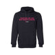 Together We Can Beat Breast Cancer medium slogan hoodie