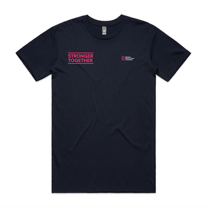 Stronger Together small slogan tee (regular fit)