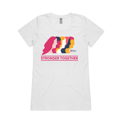 Stonger Together slim fit tee