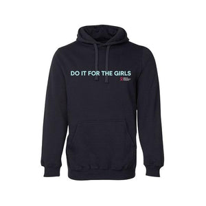 Do It For The Girls medium slogan hoodie