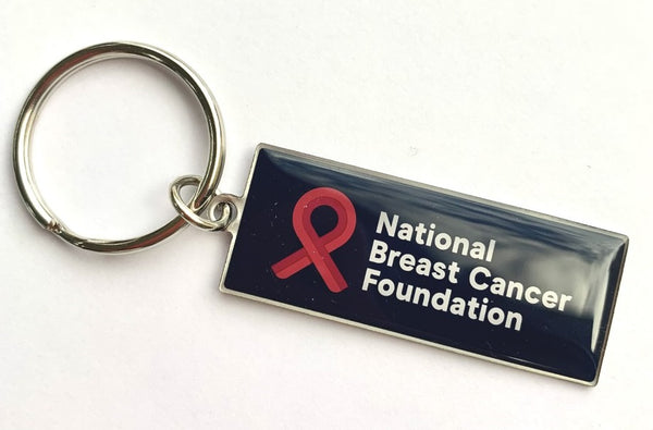 NBCF metal key ring