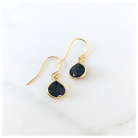 Teardrop Gemstone Earrings