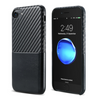 Image of Real Carbon Fiber & Leather Phone Case for iPhone