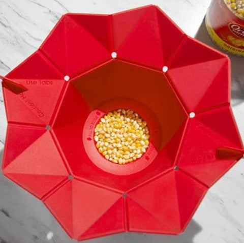 EZPop Magic Microwave Popcorn Bowl