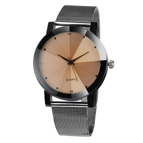 Stianless Steel Qrystal Quartz-Watch