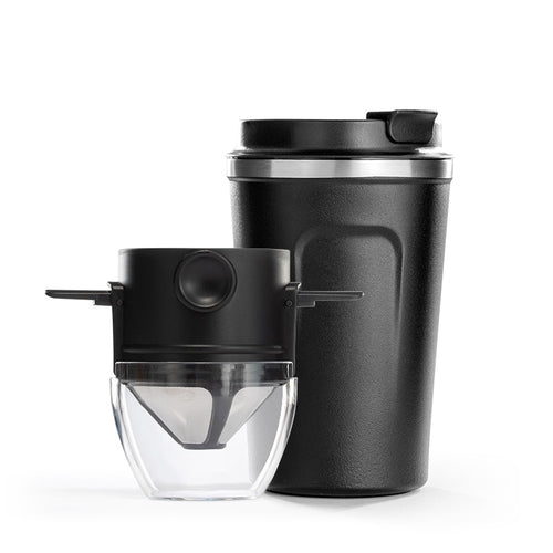 380ML Portable coffee cup Hand-made coffee set Coffee filter without filter paper brewing filter Coffee mug Drip coffee