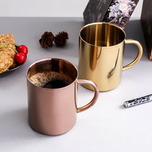 400ml Stainless Steel Travel Coffee Mug Unbreakable Cup Thermal Insulation Milk Cups Tea Mugs