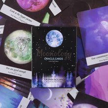 44 Cards Set Moonology Oracle Cards Magical Tarot Cards Party Entertainment Desk Board Game Cards With English Guidebook