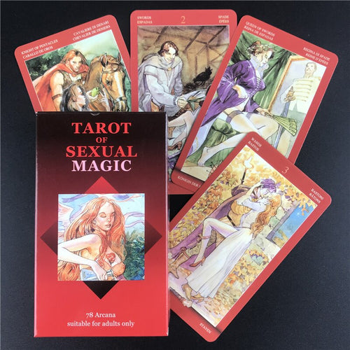 Tarot Of Sexual Magic Tarot Cards English Version Deck Tarot Table Game Playing Card Divination Fate Board Games Oracle Card