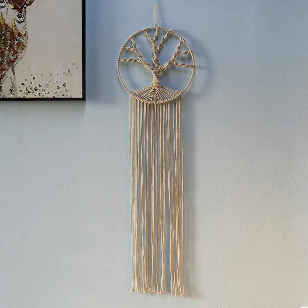 Large Tree Tapestry Macrame Wall Hanging Boho Decor Witchcraft Suppli Wild Apothecary Woman