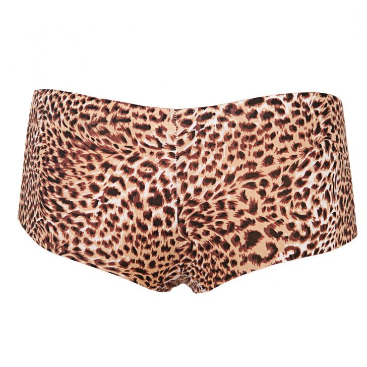 Culotte animal print (Marron)