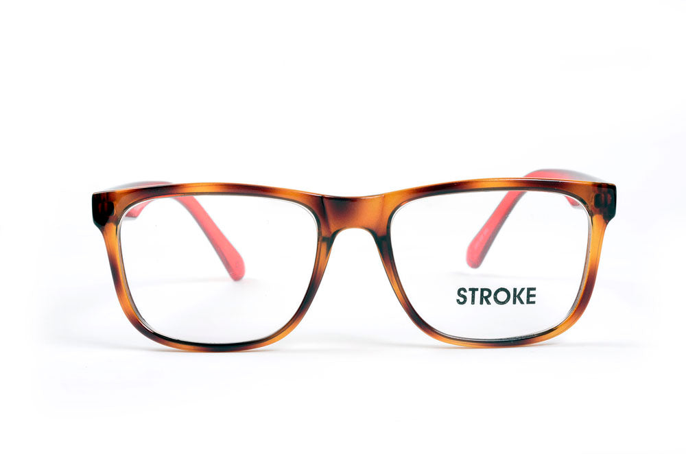 Stroke Brown Red