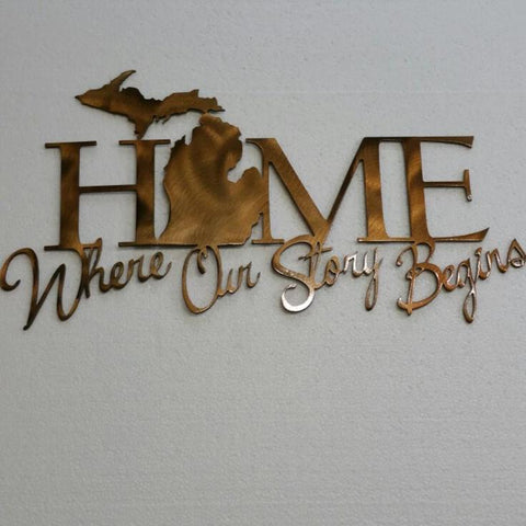 Home Where Our Story Begins (MI)