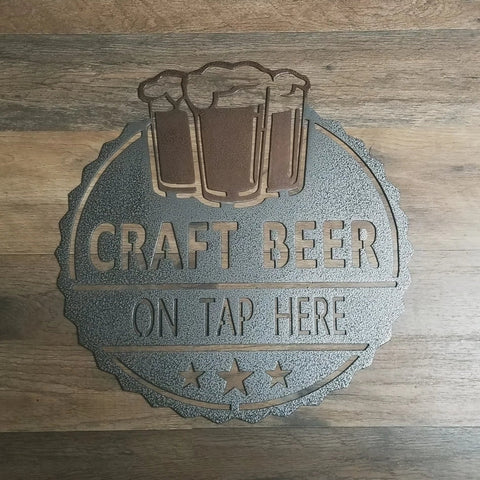 Craft Beer On Tap Here