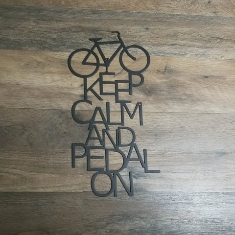 Keep Calm and Pedal On