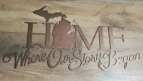 Home is Where Our Story Began (MI)