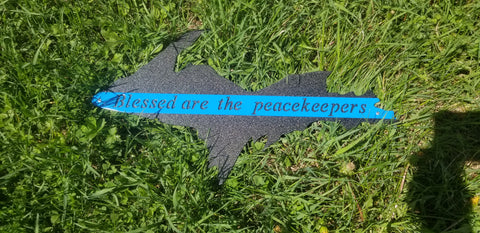 Blessed are the peacekeepers