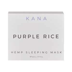 Kana Purple Rice CBD Sleeping Mask