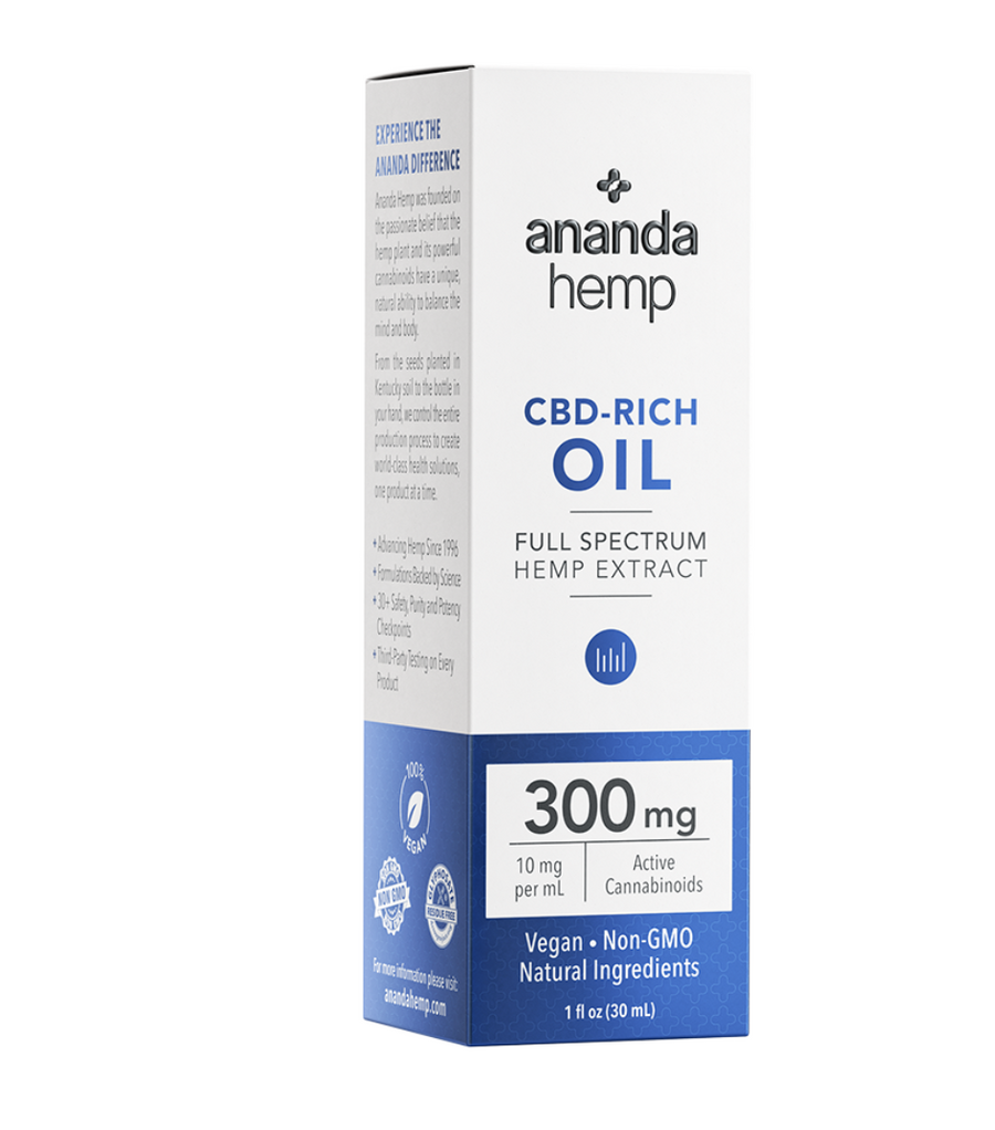 Ananda Hemp 300mg Full Spectrum Tincture