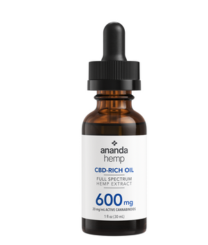 Ananda Hemp 600mg Full Spectrum Tincture