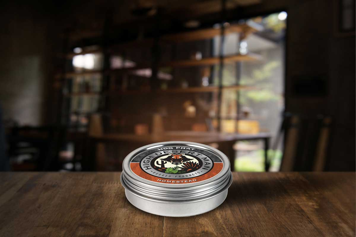 Homestead Hog Phat Beard Balm