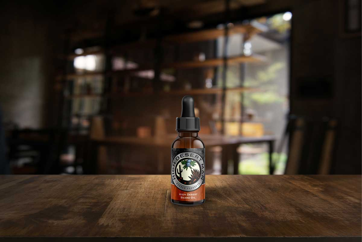 High Desert Beard Oil