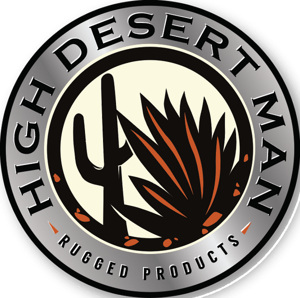 High Desert Man Decal