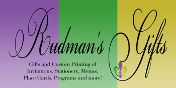 New Orleans invitation & gift store logo