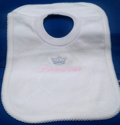 PRINCESS PULL OVER BIB