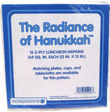 THE RADIANCE OF HANUKKAH PAPER LUNCHEON NAPKINS