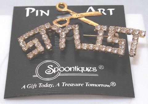 STYLIST PIN/BROOCH