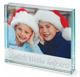 SANTA'S LITTLE HELPER GLASS FRAME