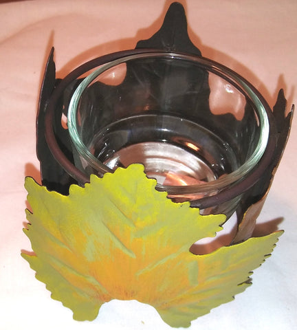 AUTUMN LEAF VOTIVE