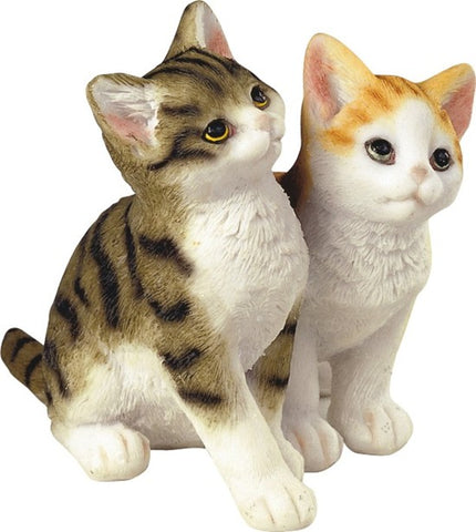 DOUBLE KITTENS FIGURINE